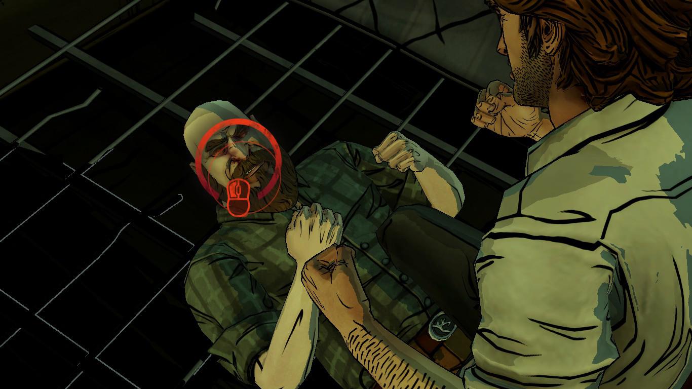 Em momentos como este, o jogador deve clicar no alvo dentro do tempo limite.