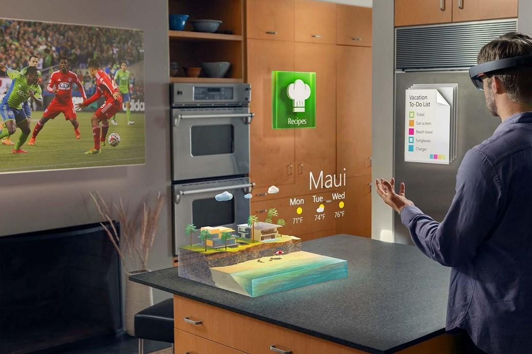 A proposta do HoloLens é auxiliar seu cotidiano com realidade virtual