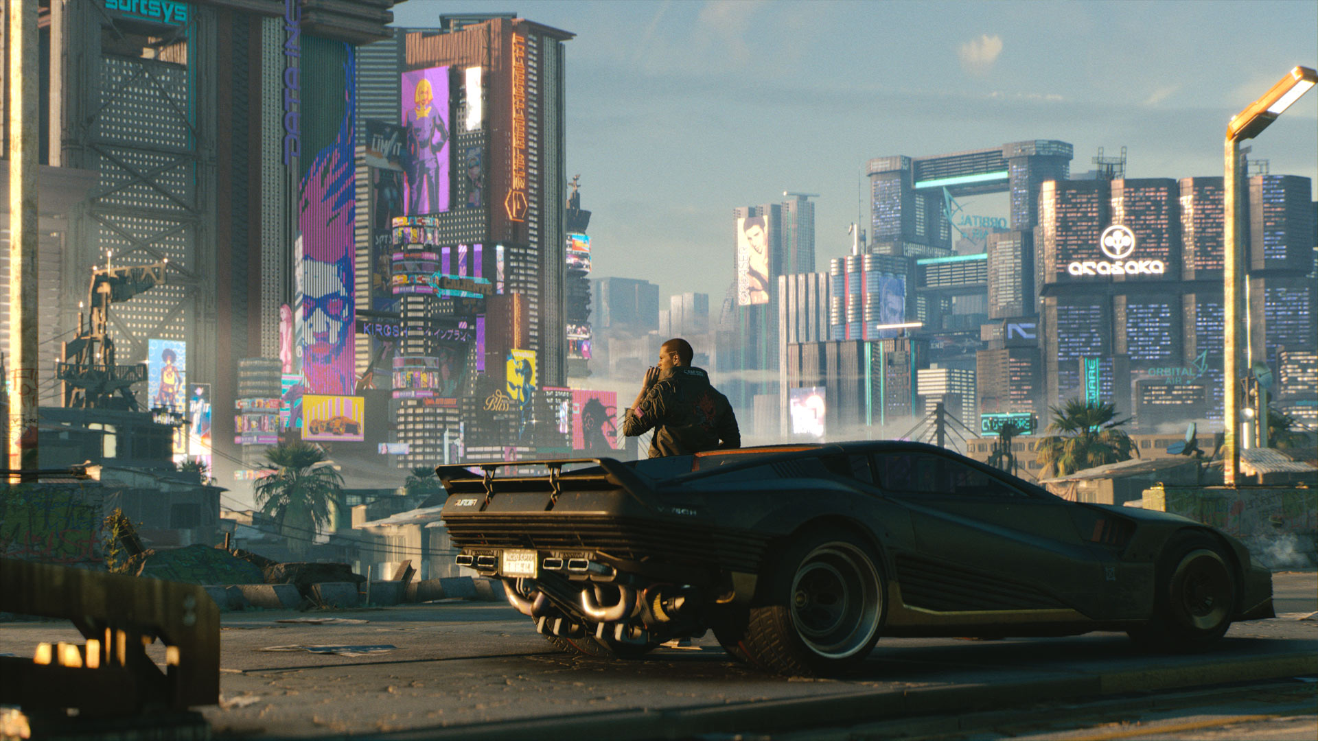 Combat, movement and hacking are the differential in Cyberpunk 2077. (Image: CD Projekt RED)