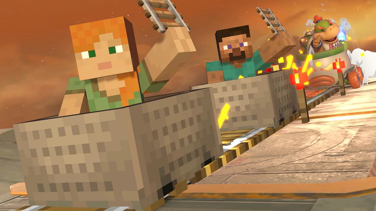 Steve, do Minecraft, é o próximo personagem de DLC de Super Smash